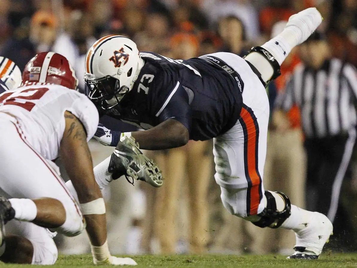 29. Greg Robinson, offensive tackle (Auburn)