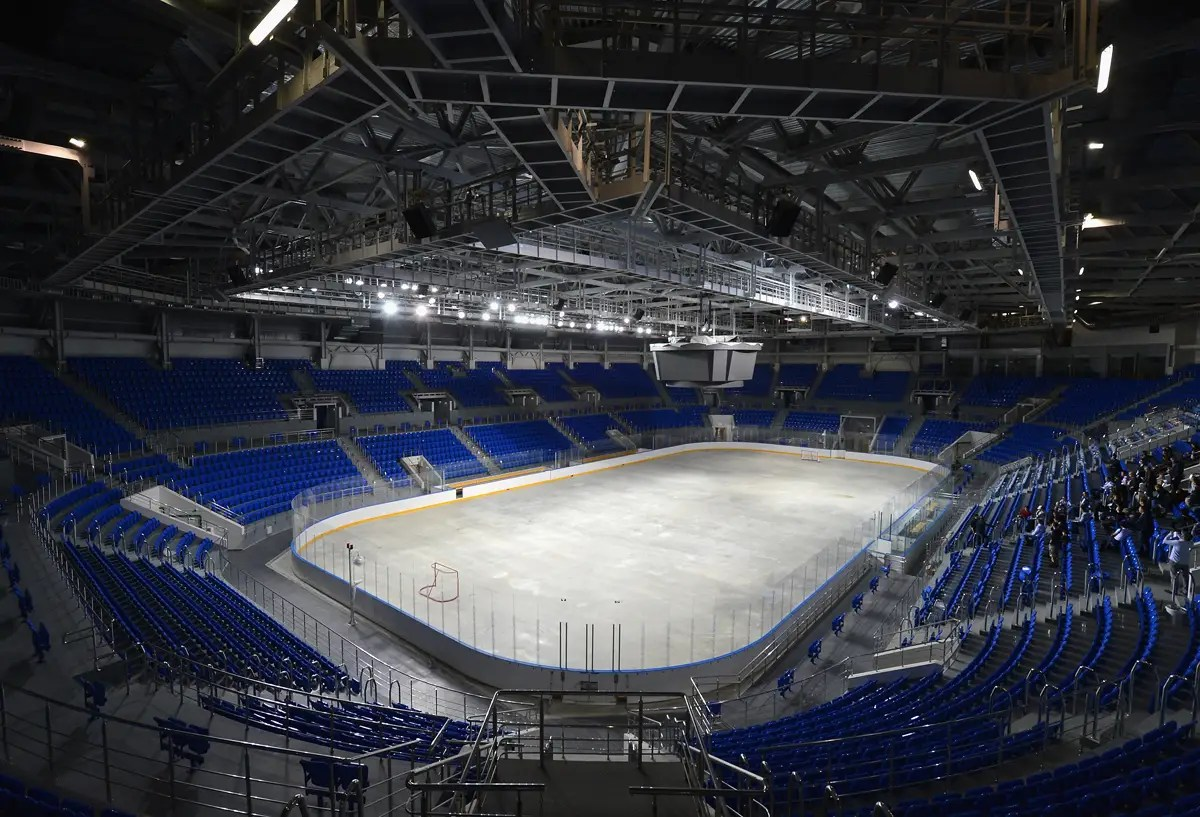 At 7,000 seats, it'll be an intimate environment for hockey.