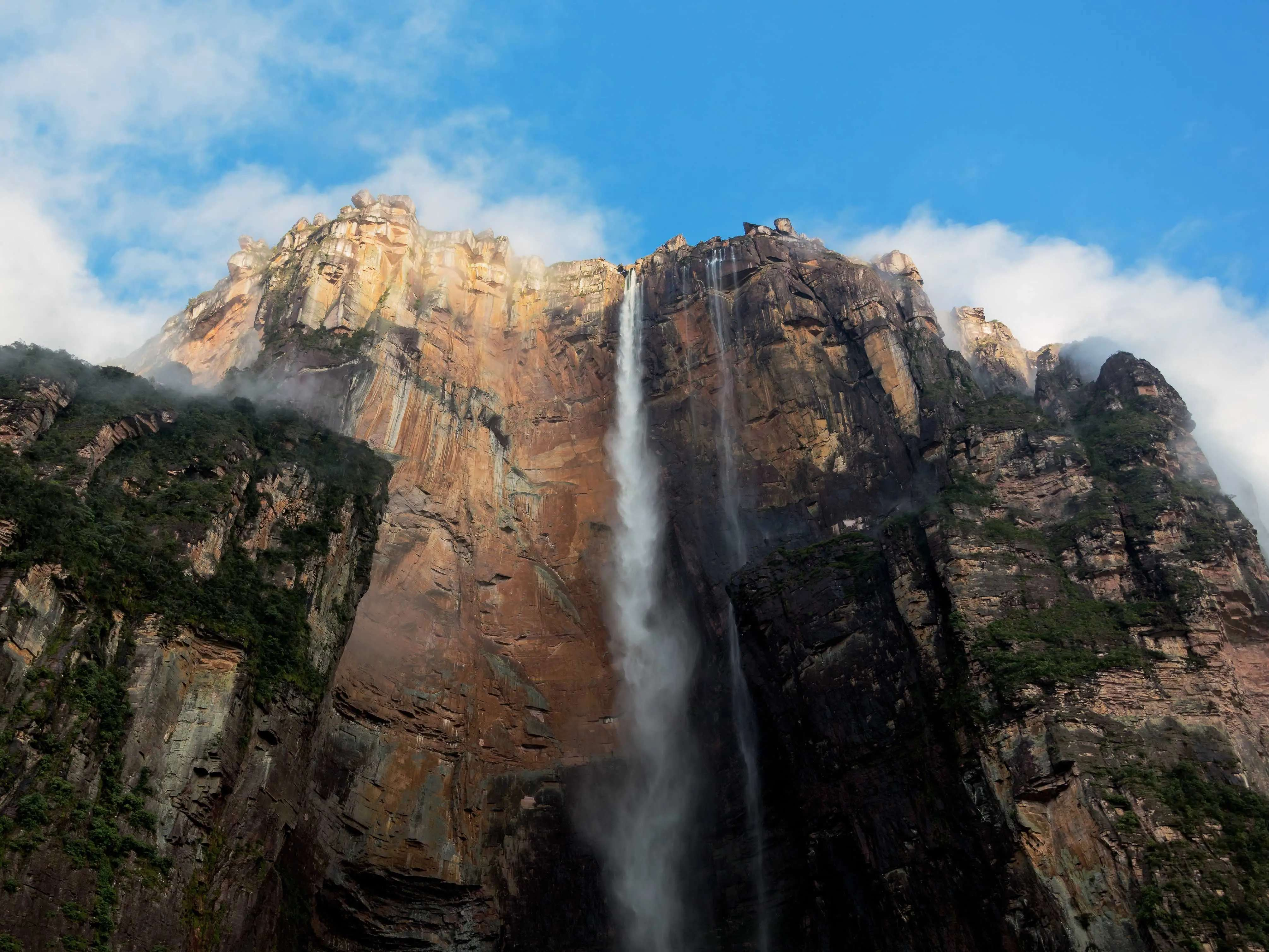Check out Venezuela's Angel Falls, one of the tallest waterfalls on earth.