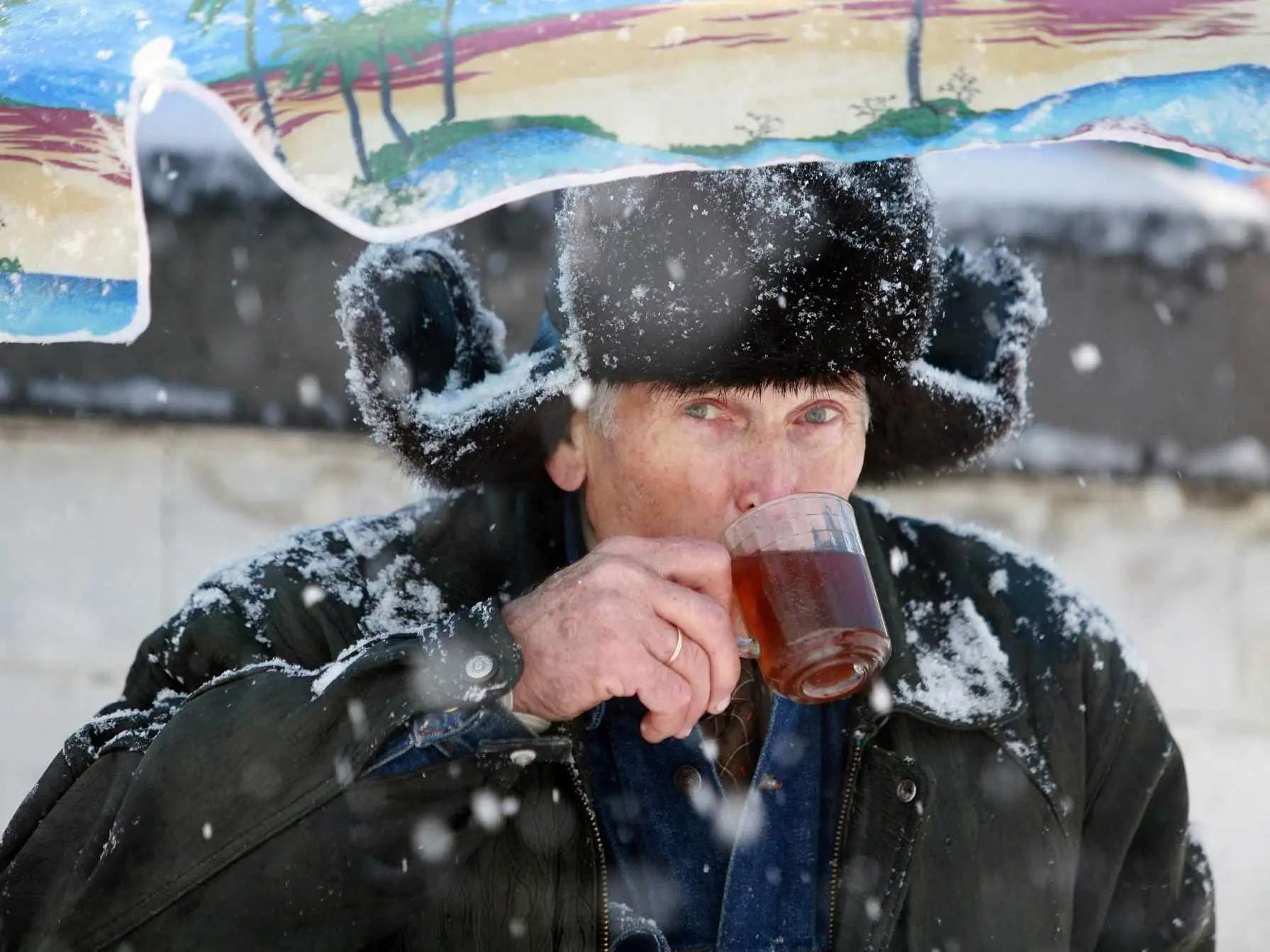 On average, Russians drink six times as much tea per person per year as Americans.
