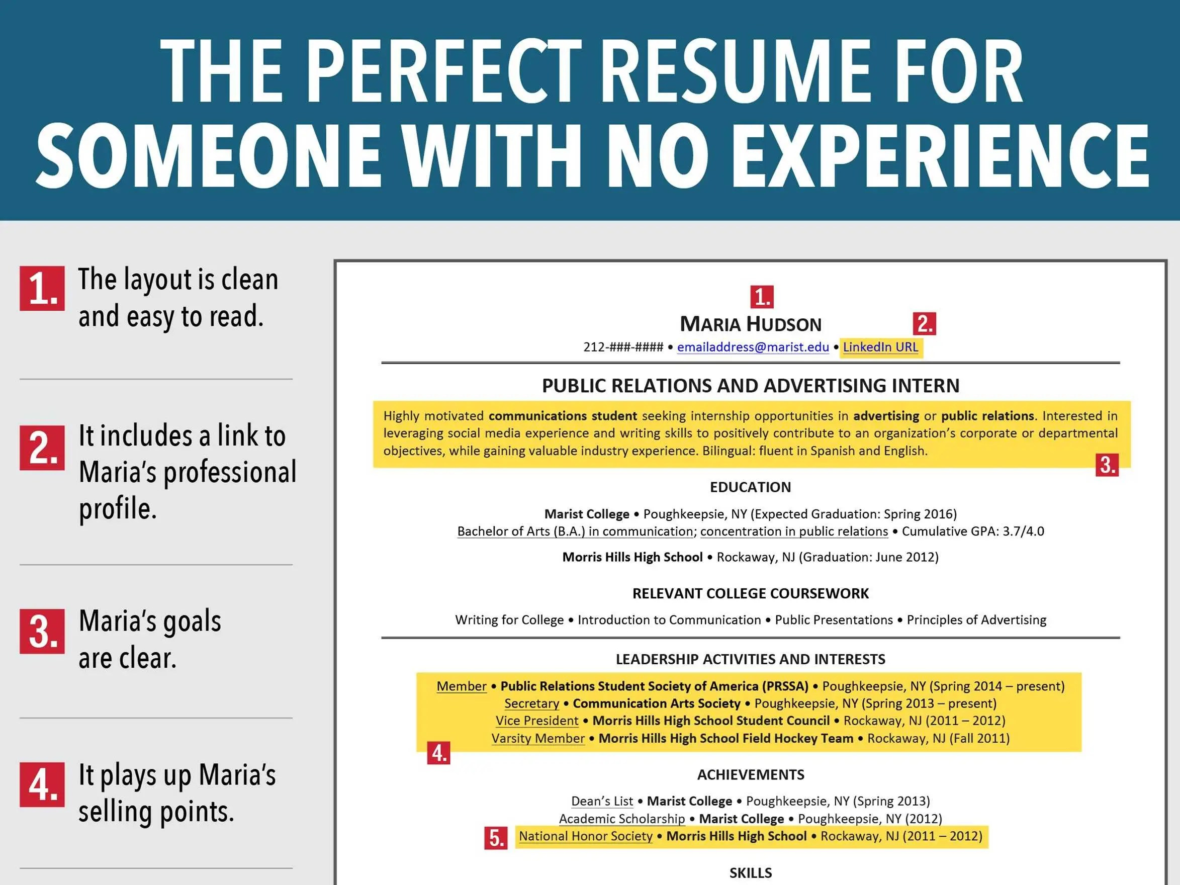 Superior Resume For Job Seeker With No Experience Business Insider With How To Make A Resume With No Job Experience