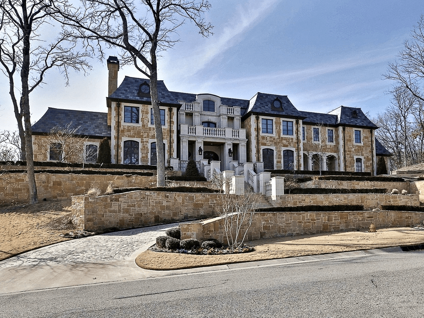 "In Tulsa, Oklahoma, for $4.9 million you can get a ""Chateau Nouveau,"" an 11,273-square-foot mansion with seven beds, seven baths, a pool, and gated entry."