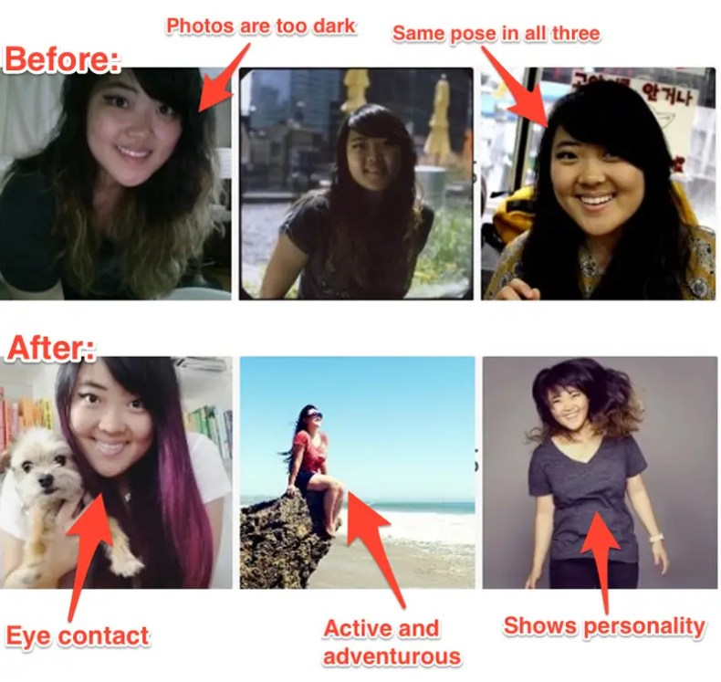 profile polish photo updates