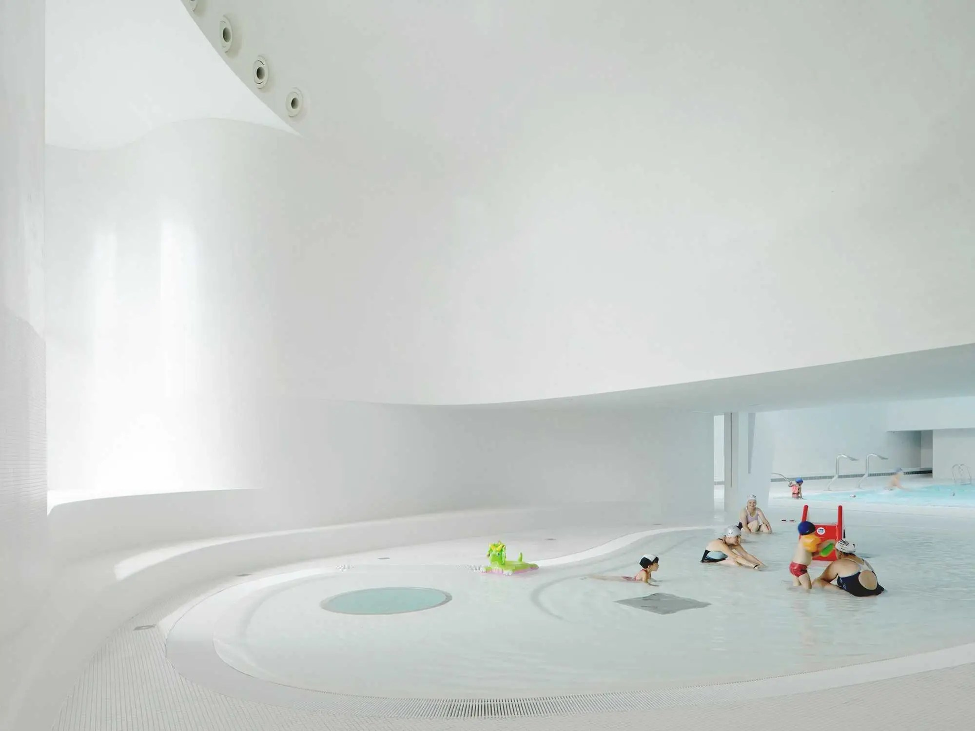 Swimming Pool Extension in Bagneux, France
