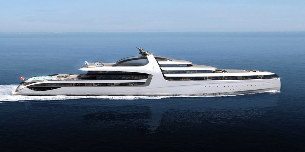 This New Concept Mega Yacht Is Almost 500 Feet Of