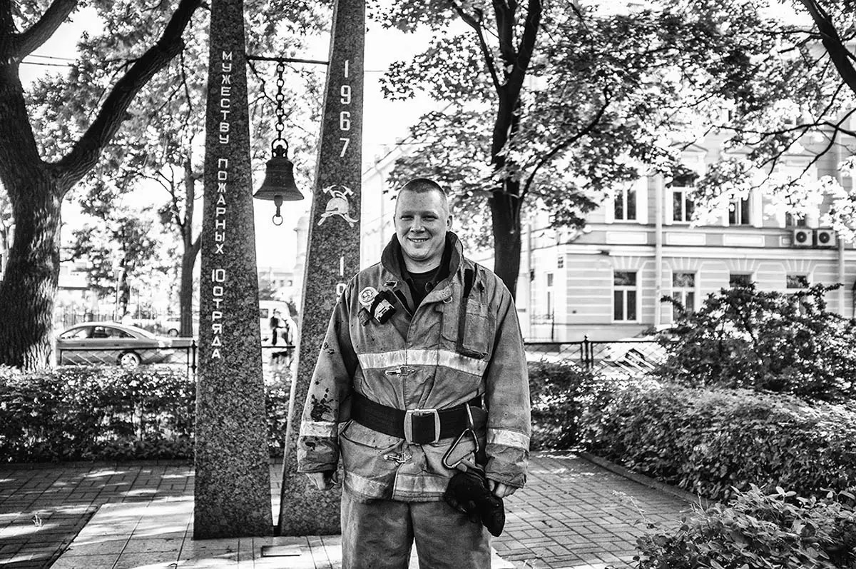 """Georgiy, age 33. Profession: Firefighter. Passion or Dream: """"I want to take a photo of a polar bear together with my daughter on the island of Spitzbergen."""""""