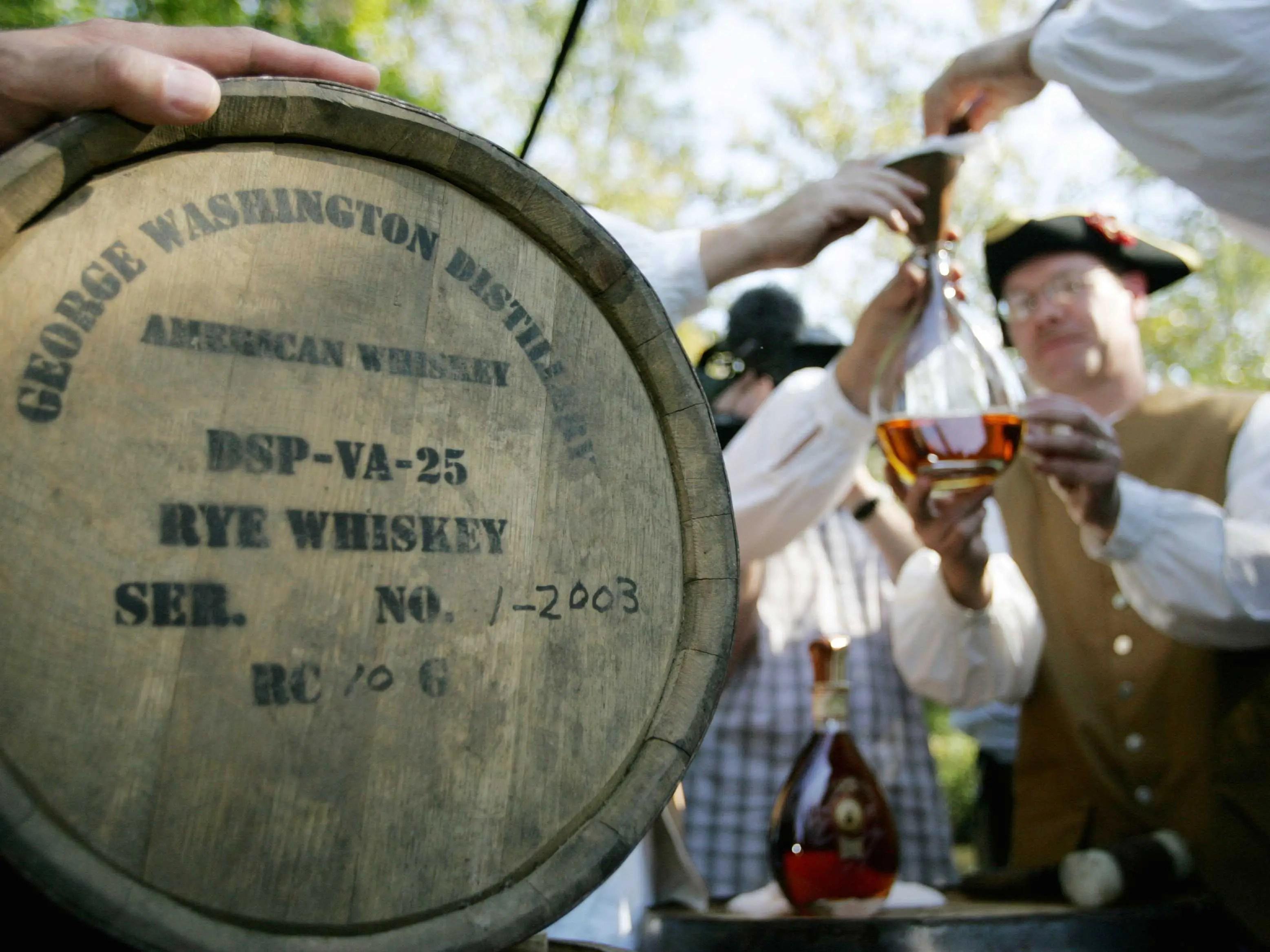 George Washington Rye Whiskey