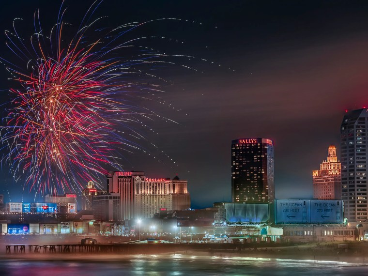 Image result for atlantic city fireworks