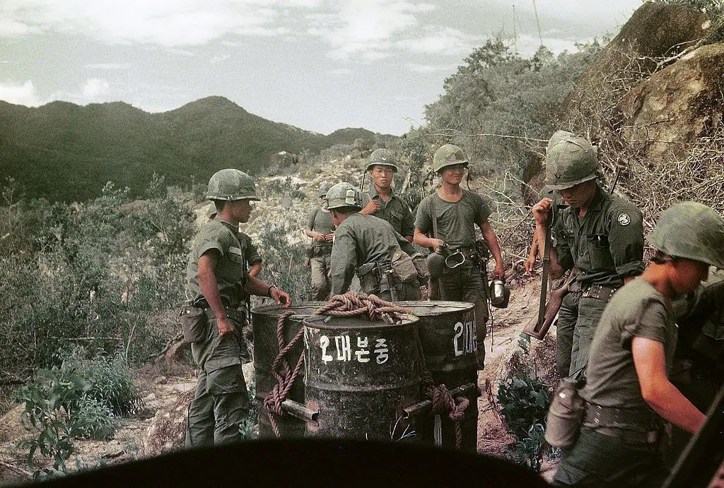 vietnam water drums outpost phillip kemp rok 9th infantry