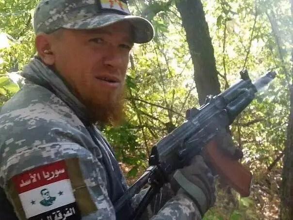 Arseny Pavlov Motorola Syria Russia soldiers
