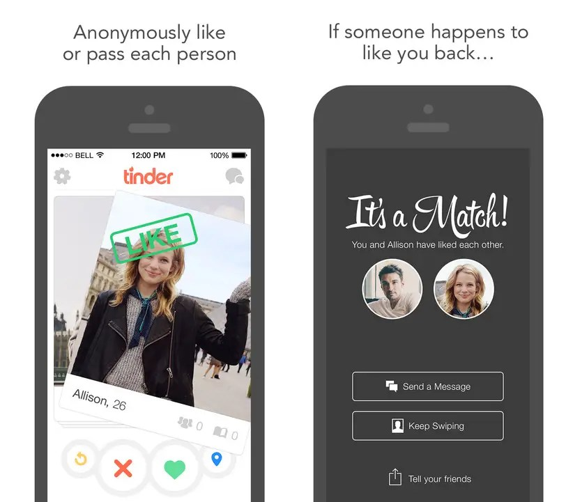 Tinder is matchmaking in the 21st century.