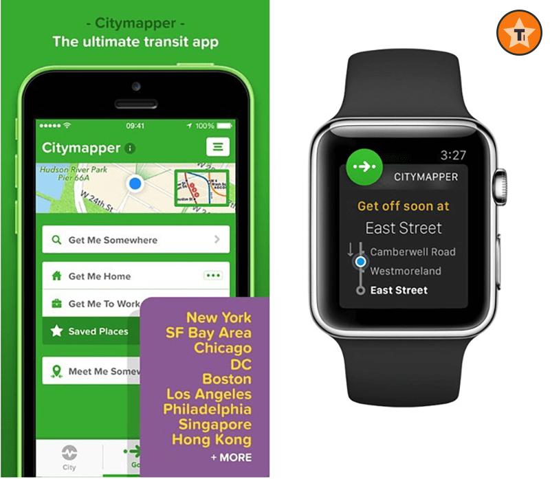 Citymapper will help you get around a big city.