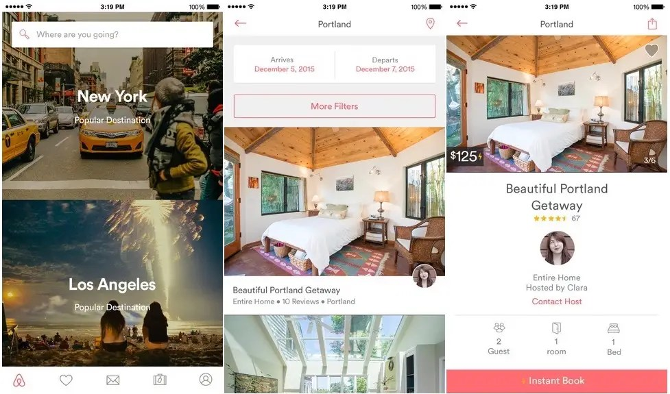 Airbnb will find you a place to stay.