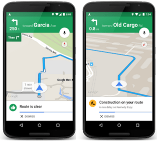 how Google predicting Traffic updates