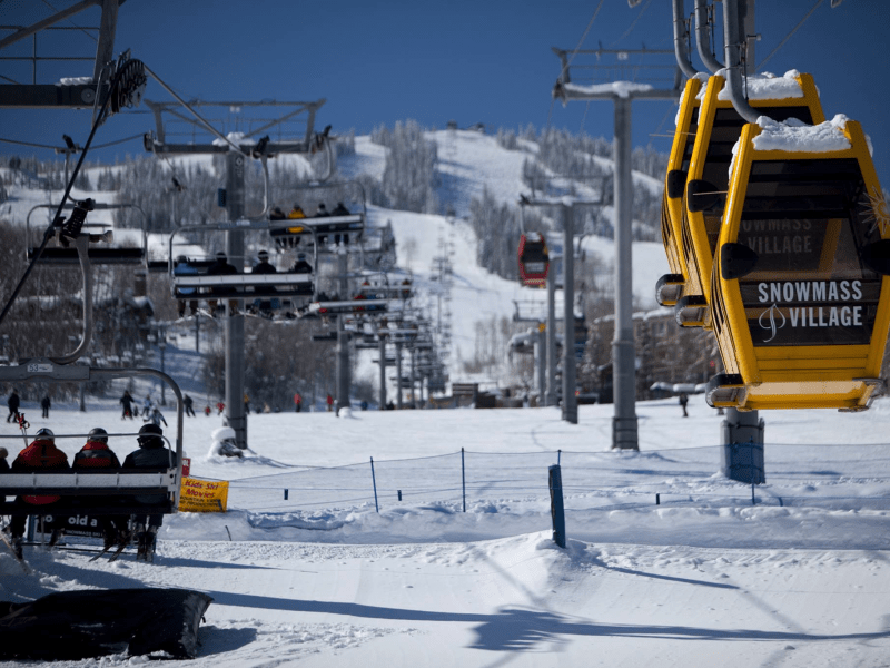 7. The largest of the four Aspen ski resorts, Snowmass offers 3,362 acres of skiable terrain with a vertical drop of 4,406 feet. It's a family-friendly resort complete with three exceptionally designed terrain parks for all levels.