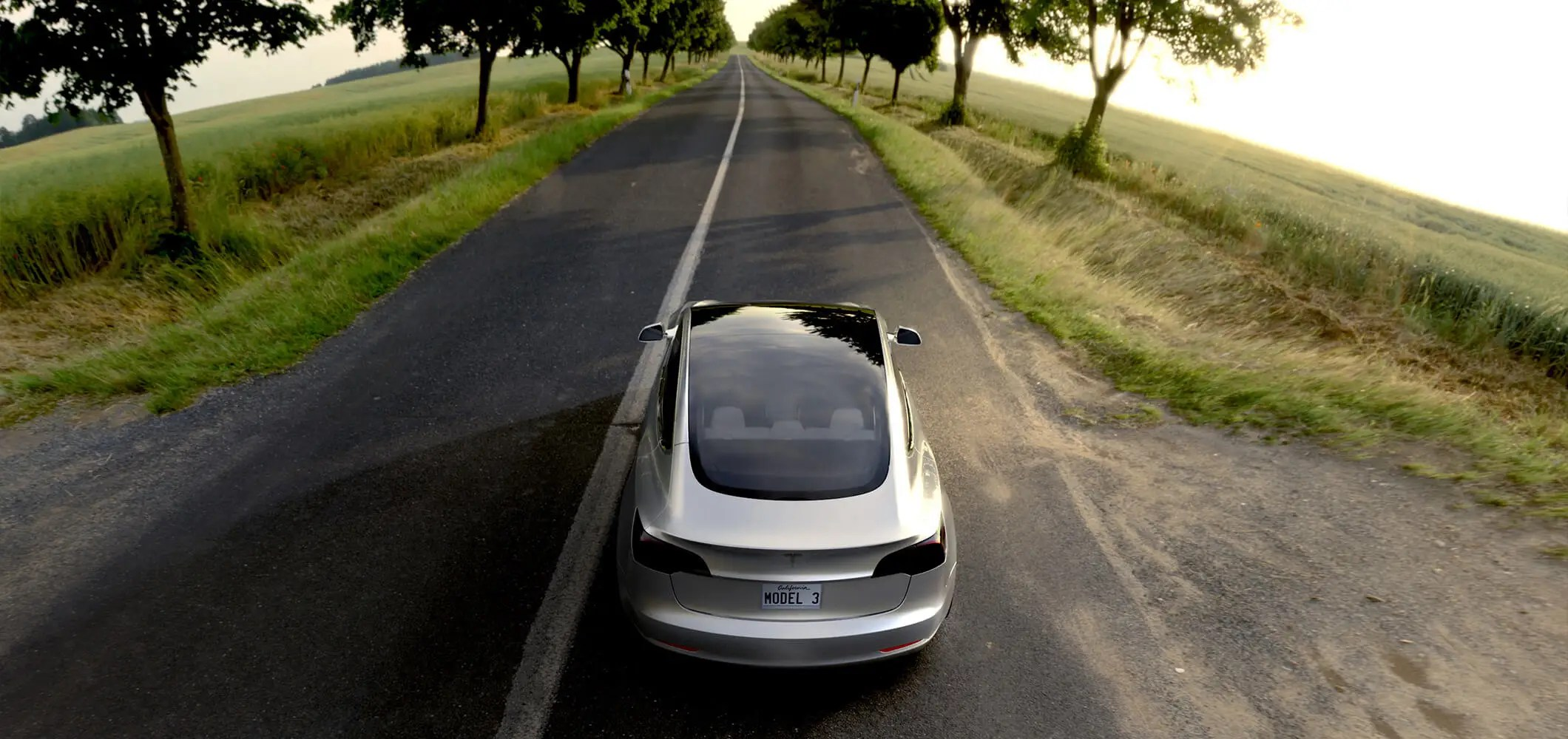 2. The Model 3 is a nimble electric car: It can go from 0 to 60 miles per hour in just six seconds.