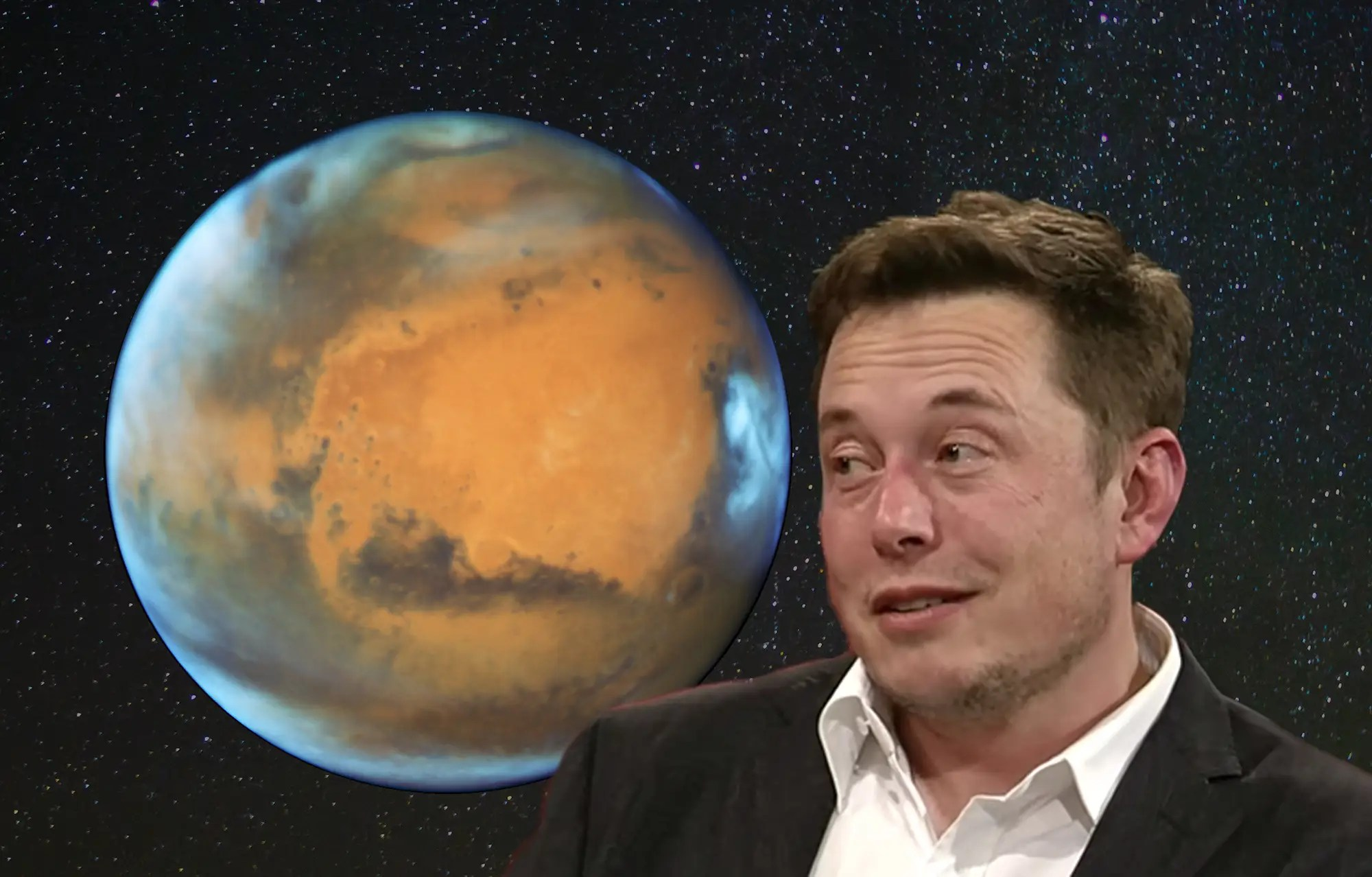 "In the long term, SpaceX's goal is to make it affordable to colonize Mars. He's said that SpaceX won't IPO until what he calls the ""Mars Colonial Transporter"" is flying regularly."