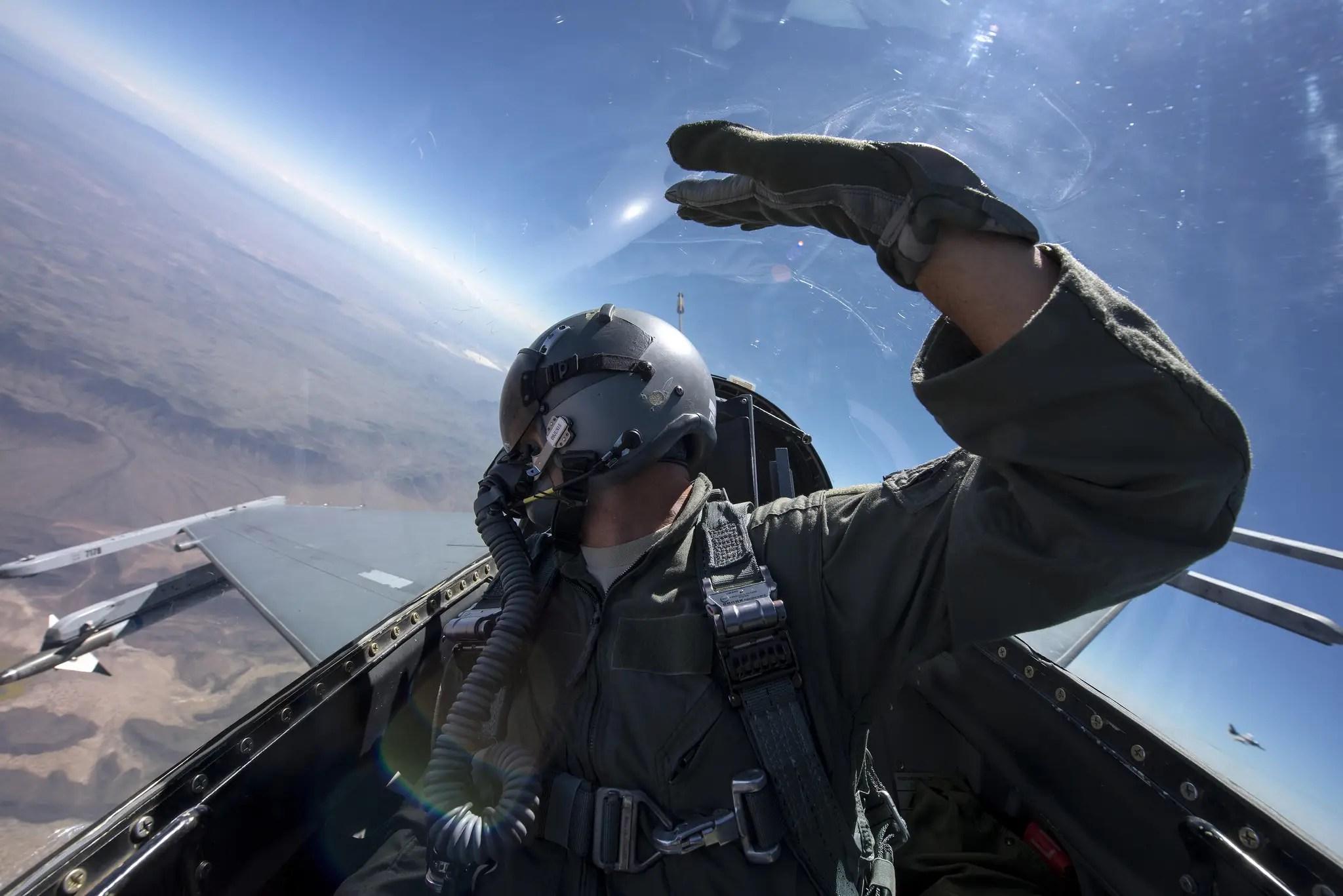 air force cockpit