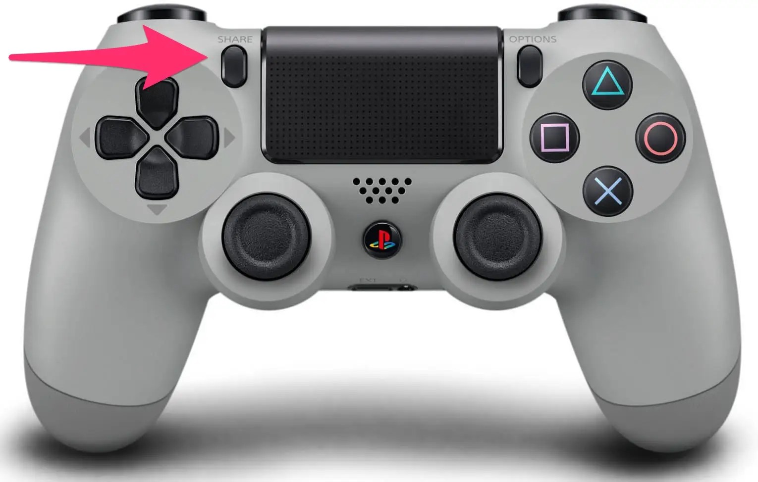 Sony DualShock 4 (arrow)