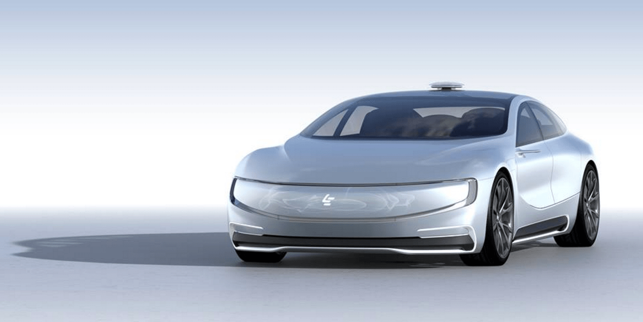3. LeEco, a Chinese tech company, unveiled its Tesla killer concept car at the Consumer Electronics Show.