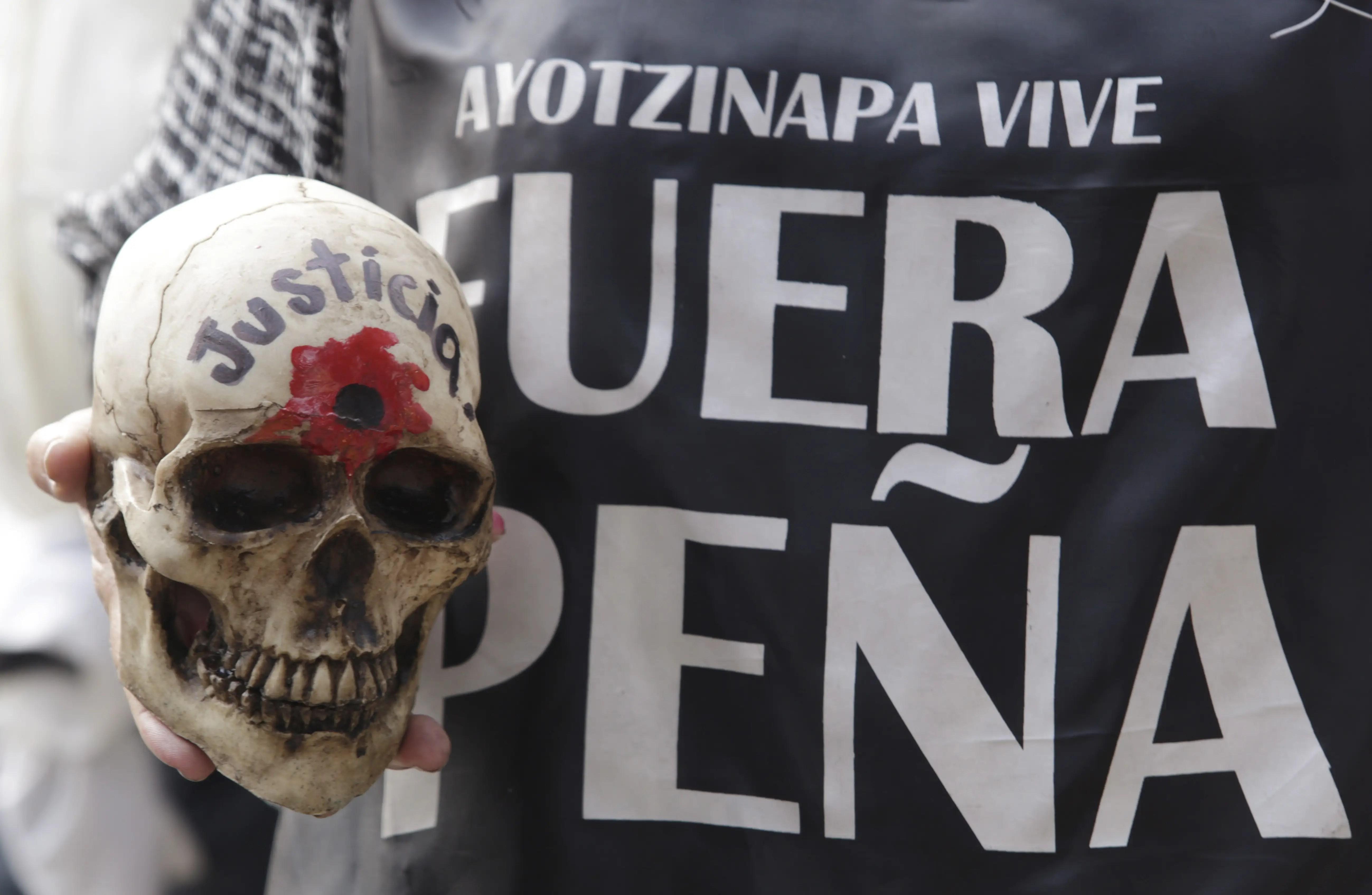 Mexico Guerrero Ayotzinapa protest crime