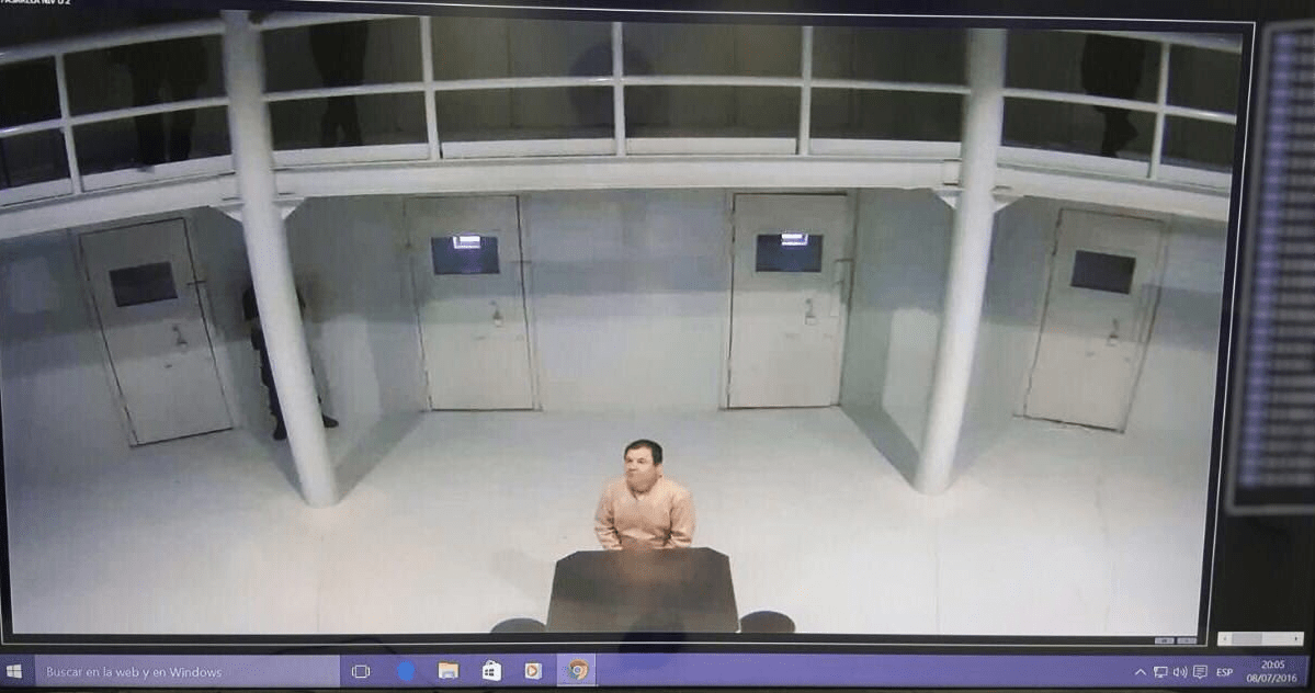 El Chapo Guzman fake escape story prison photo