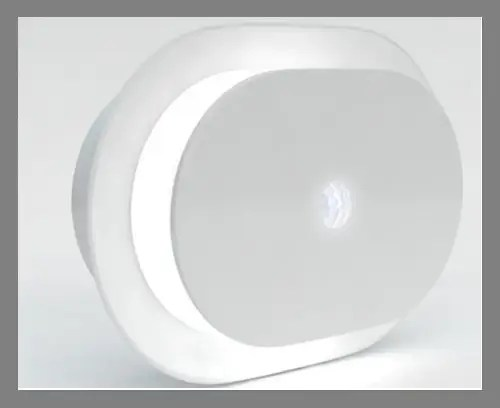 A motion-sensing light