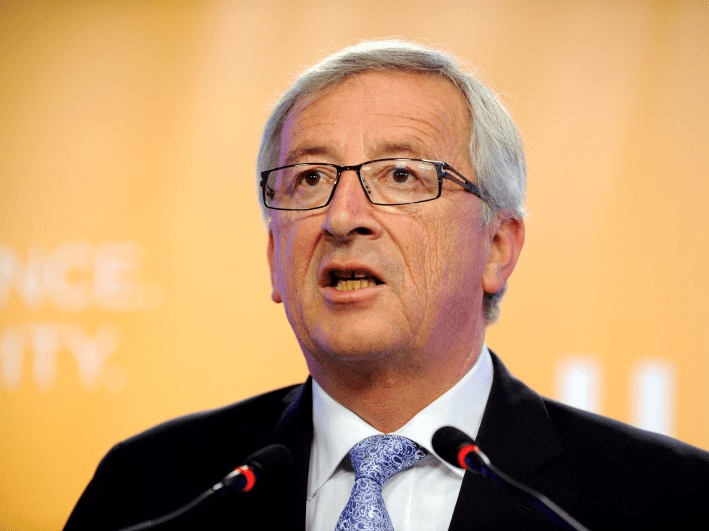 Jean Claude Junker in Brussels May 25, 2014. REUTERS/Eric Vidal