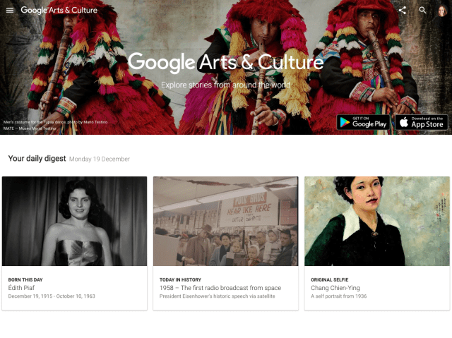 Get your culture on by using Google Art Project to check out super high-res photos of artwork from the world's greatest museums.