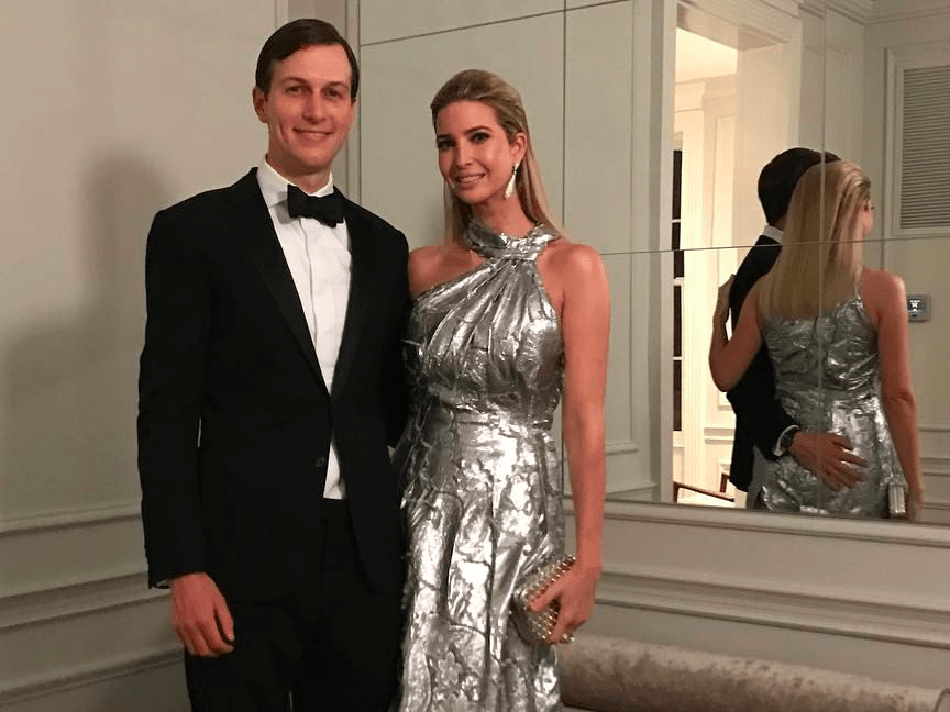 Image result for ivanka trump jared kushner immigration ban snapchat