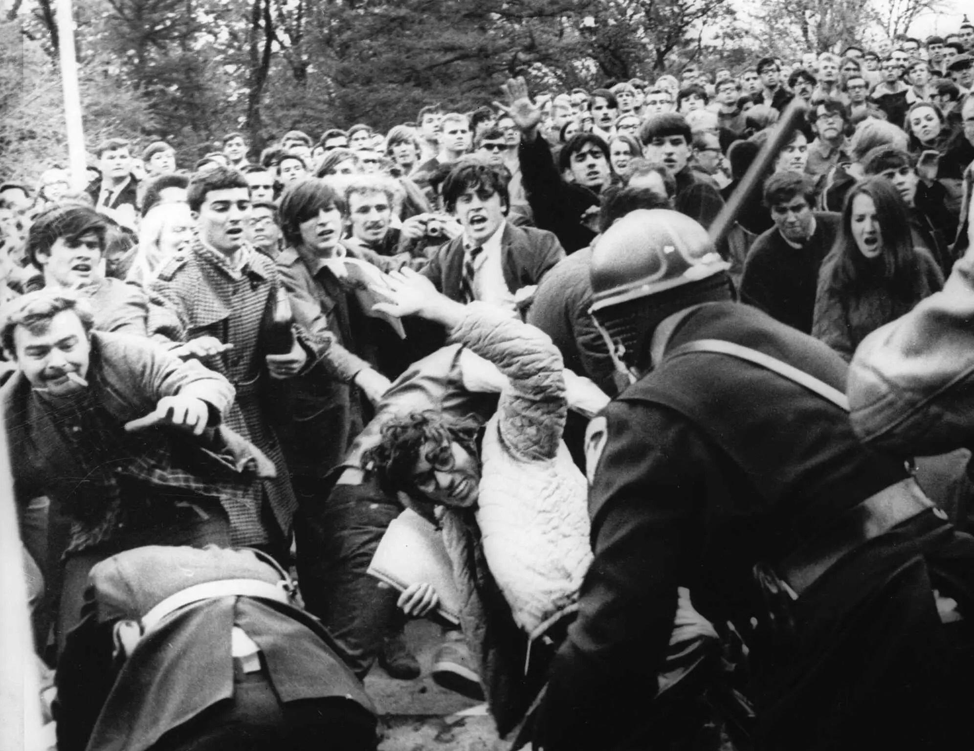 Universities have historically been breeding grounds for contemporary activism. Starting in the early 1960s, many college students protested in opposition to the Vietnam War ...