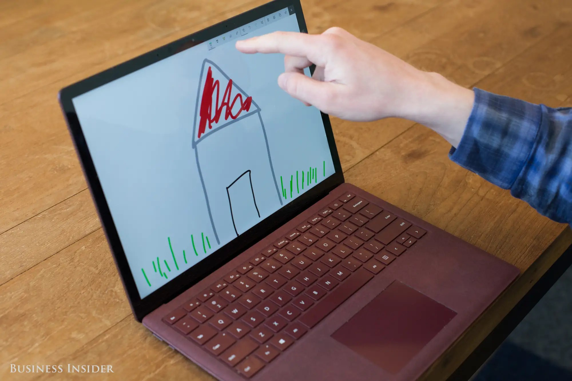 Other than a touchscreen, there's no gimmick here. For $999, you get a premium, high-end laptop that rivals anything Apple has to offer.
