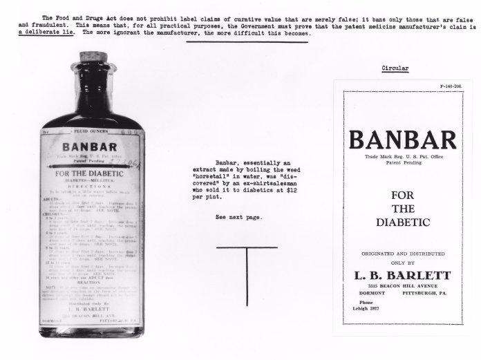 """Banbar"" was used by many people to treat diabetes. Unfortunately, it didn't actually work."