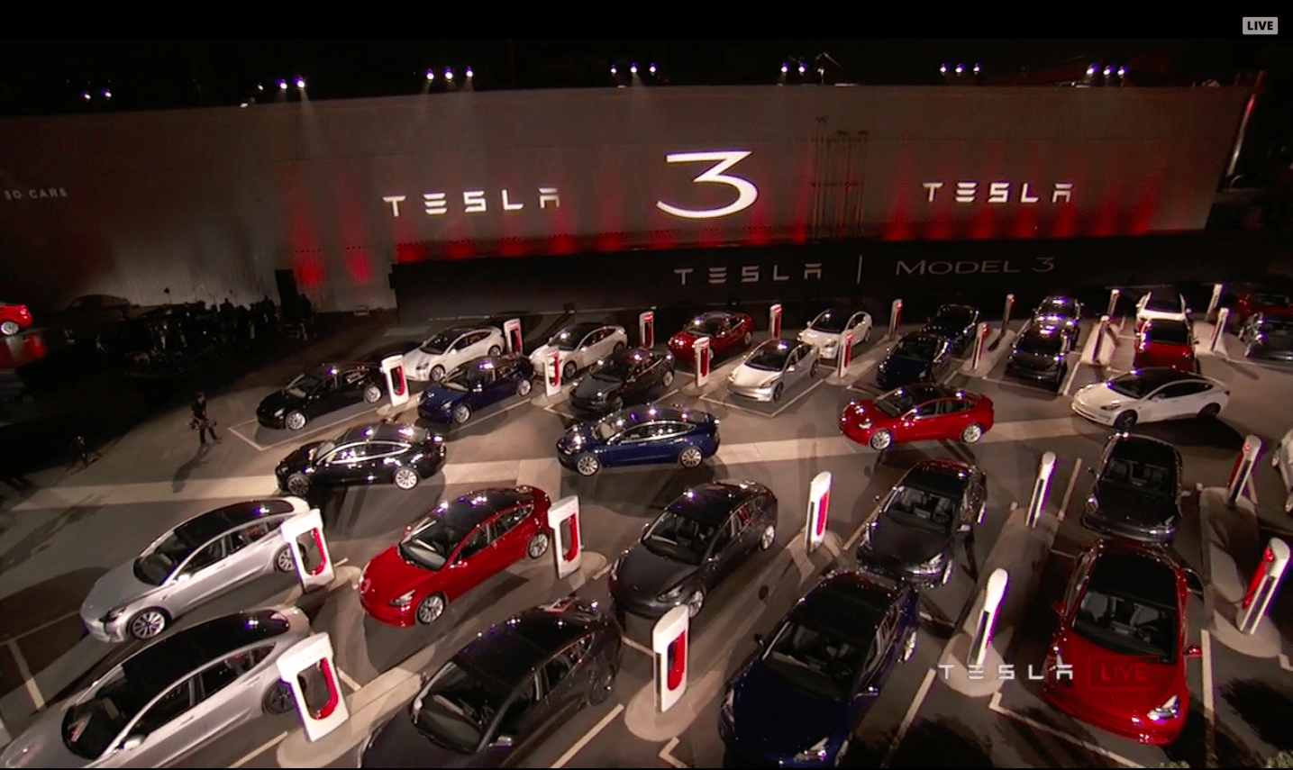 4. Tesla isn't actually mass-producing the Model 3 yet.