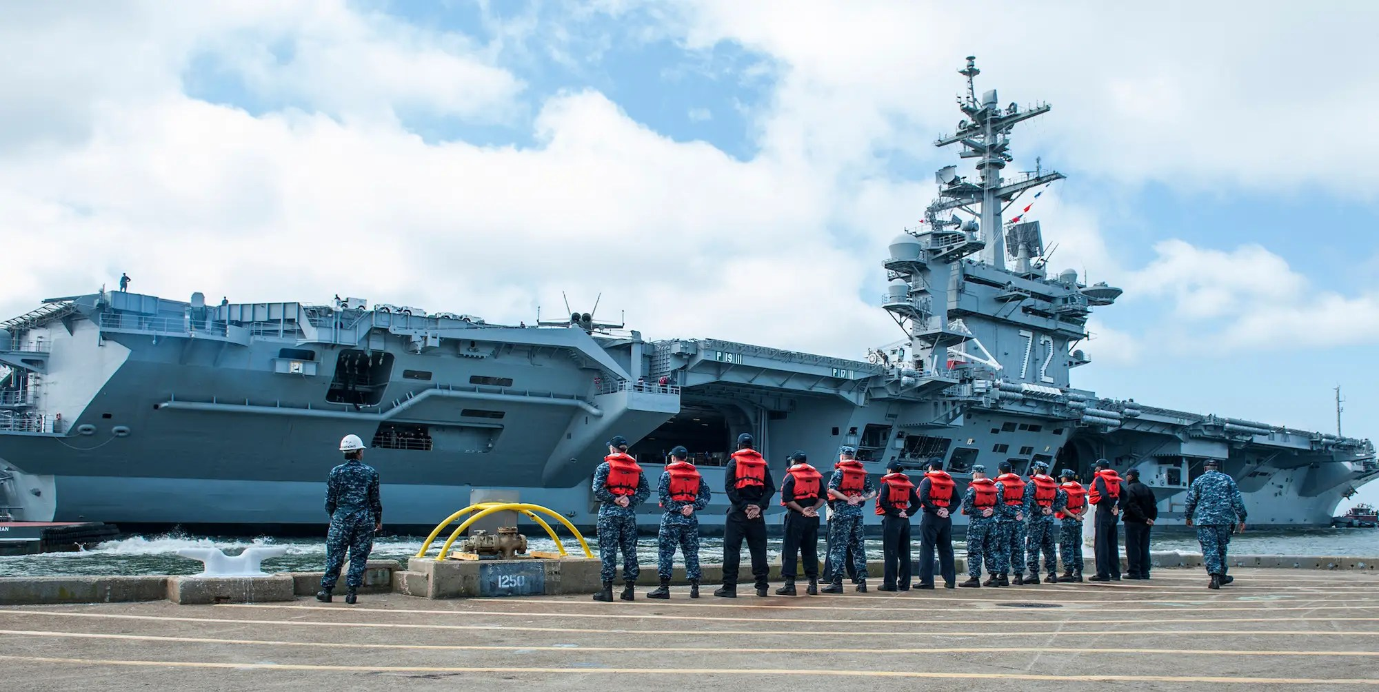 The USS Abraham Lincoln finished its four-year midlife refueling and complex overhaul in May and is now going through qualifications.