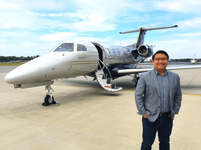Embraer Phenom 300E Benjamin Zhang