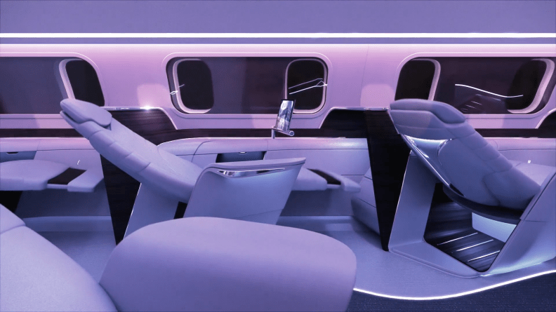 aura airlines first class