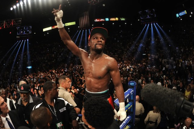 When is Floyd Mayweather's next fight
