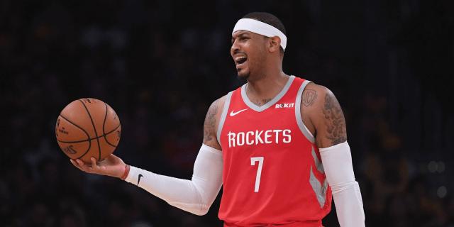 Carmelo Anthony Rockets