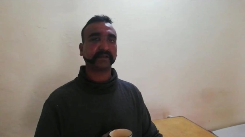 Indian pilot Wing Commander Abhi Nandan captured by Pakistan