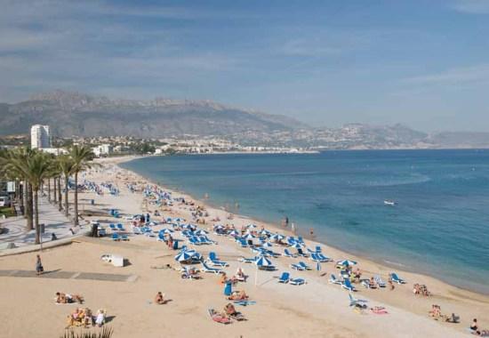 Albir Beach Costa Blanca - Image Copyright ComunitatValenciana.Com