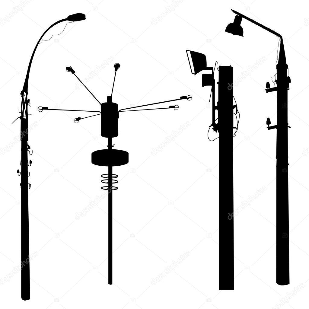 Street Lamp Silhouettes