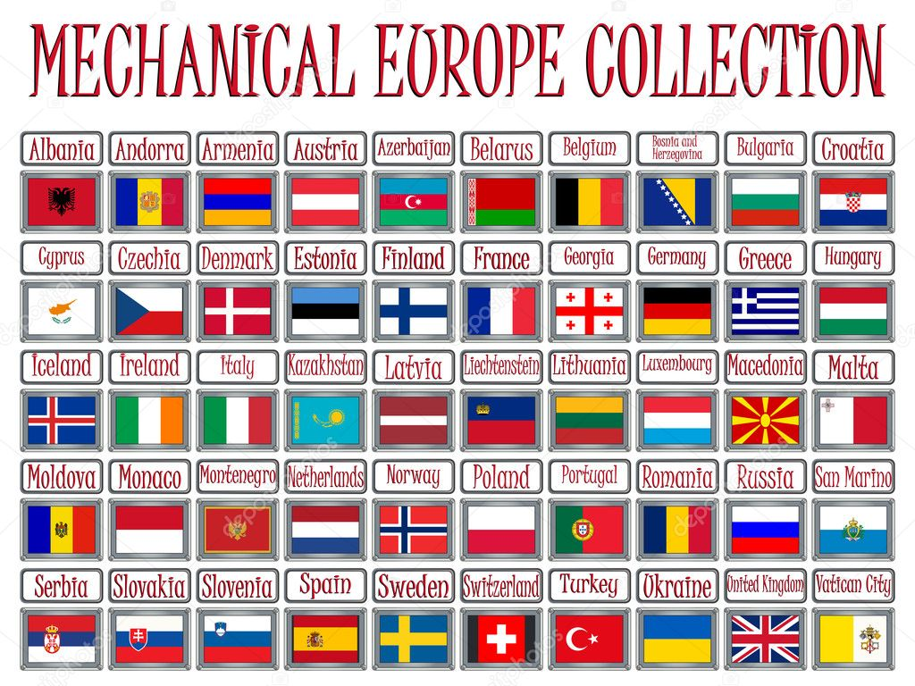 Coleccion Mecanica De Europa