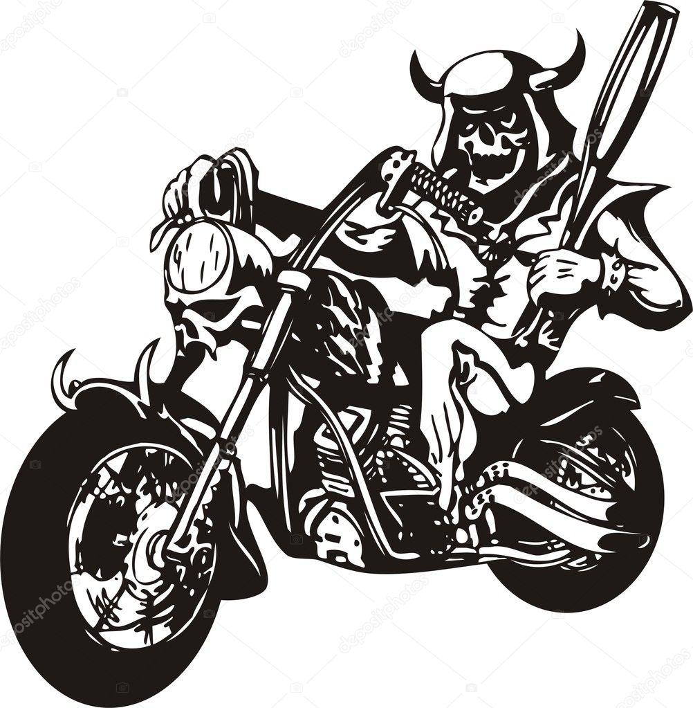 Harley Stock Vector Digital Clipart 3477921