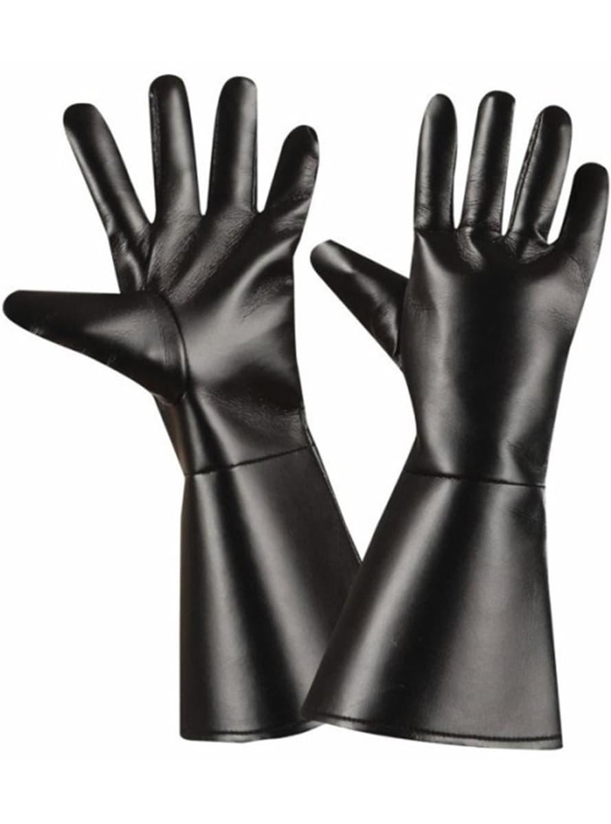 Black Superhero Gloves