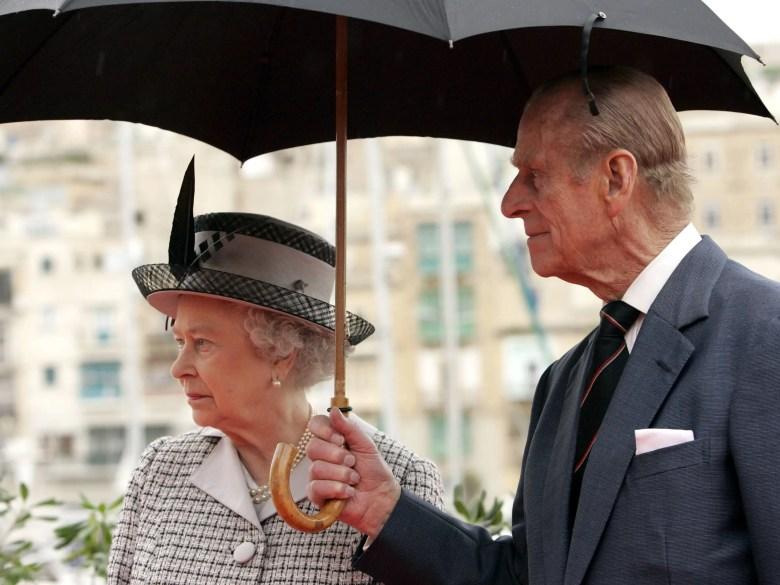 prince philip umbrella