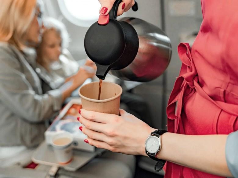 coffee plane