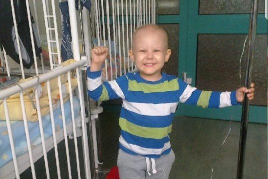 Julian este un baiatel de 8 ani care se lupta cu cancerul (foto Aneta Katarzyna Malankowska)