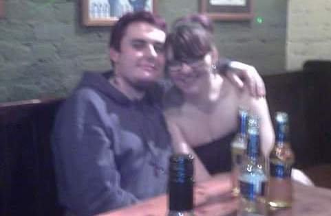 Scott Purdy alături de fosta iubită (foto northfoto)