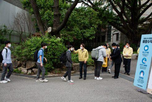 Școala în timp de COVID-19: Cum a pregătit Coreea de Sud redeschiderea școlilor 3